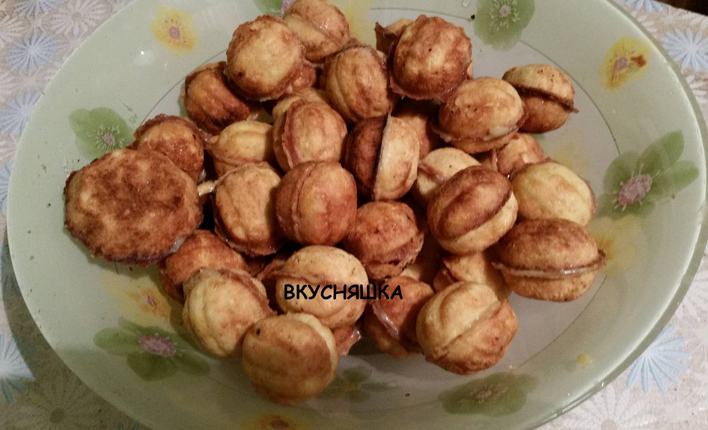 Орешки и грибочки рецепт с пошагово